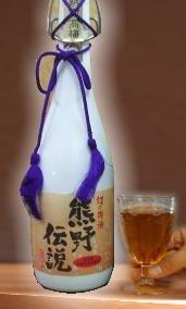 プラム食品 最高級梅酒 熊野伝説 ALC13度 720ml ブラック