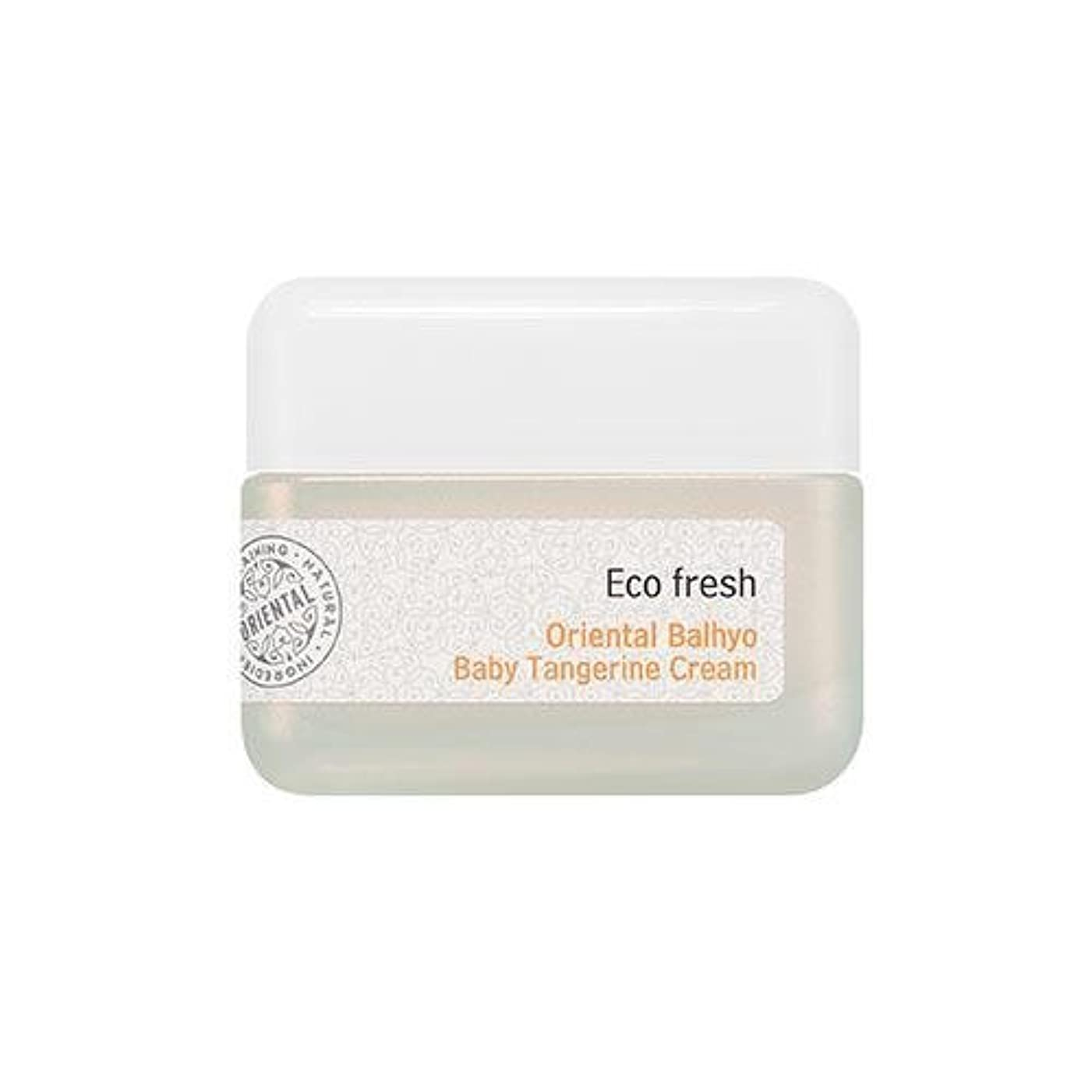 トリプル先入観容器APIEU Eco Fresh Oriental Balhyo Baby Tangerine Cream [Korean Import]