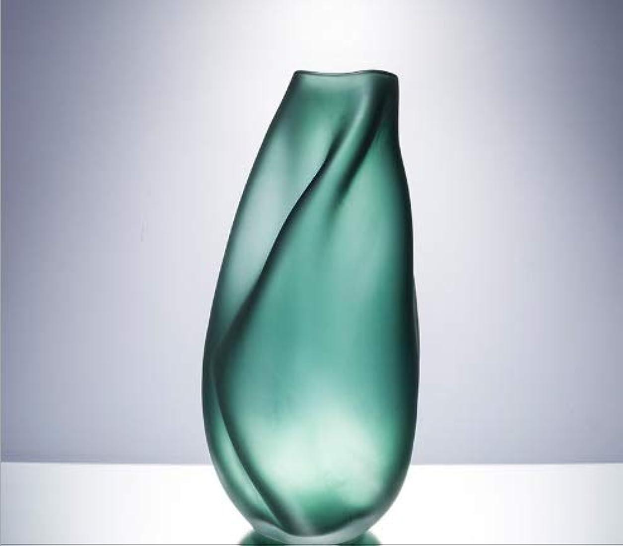 上院議員性別分配しますChennong ダイヤモンドスターカラークリエイティブガラス花瓶現代のシンプルな水耕の花家の装飾工芸品 (Size : L)