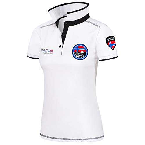 Nebulus Poloshirt Forward Damen, weiß - XL (42)