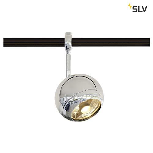 SLV Light Eye, Spot für Hochvolt-Stromschiene EASYTEC II, Stahl, GU10, Chrom