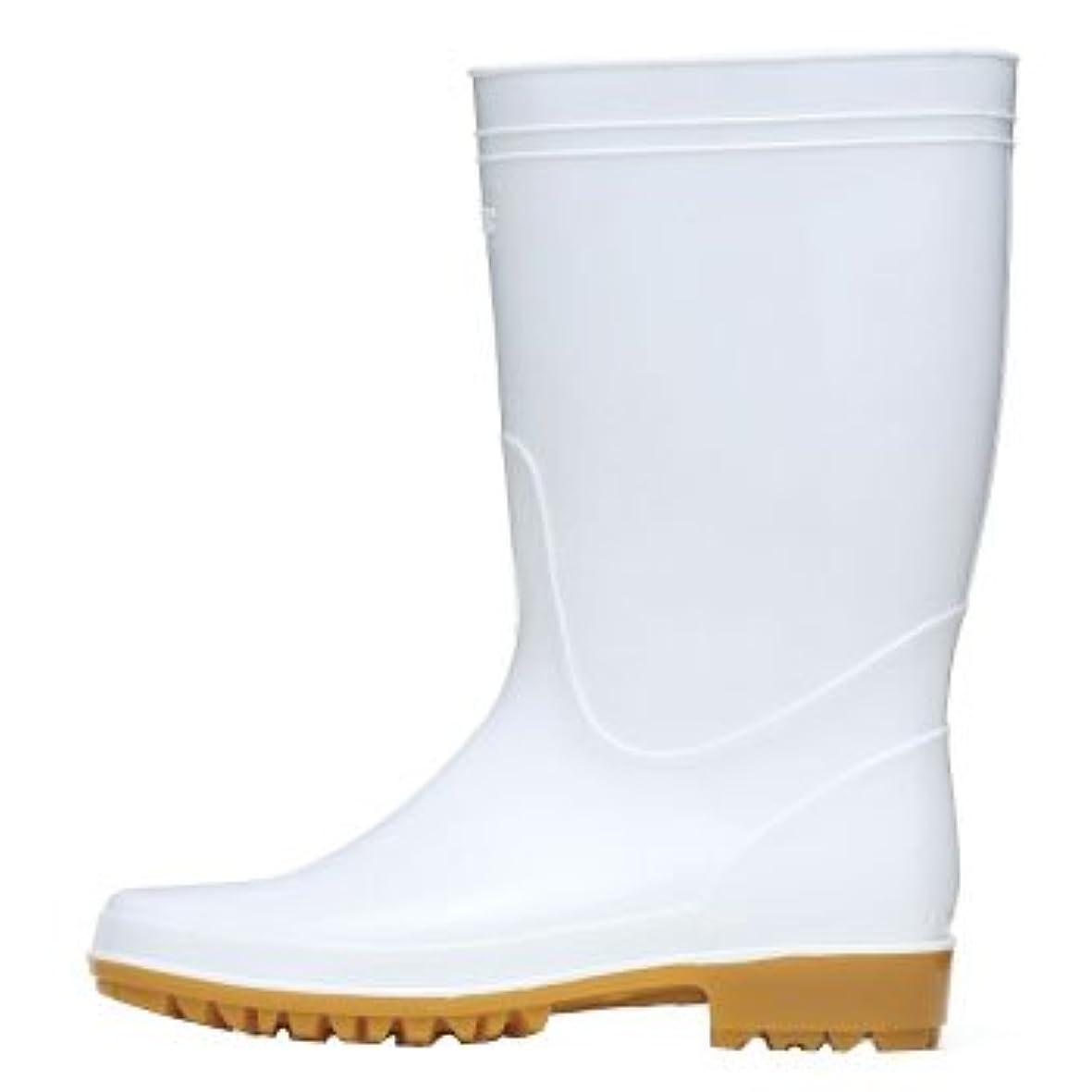 ルー病なファンジーベック 衛生長靴(抗菌?防臭中底)耐油性 23.5cm ホワイト 85762