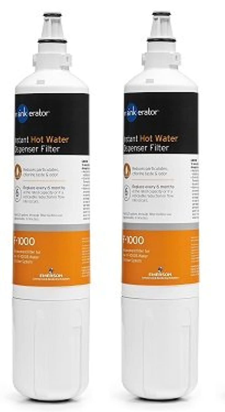 InSinkErator F-1000 Replacement Water Filter (2-pack)