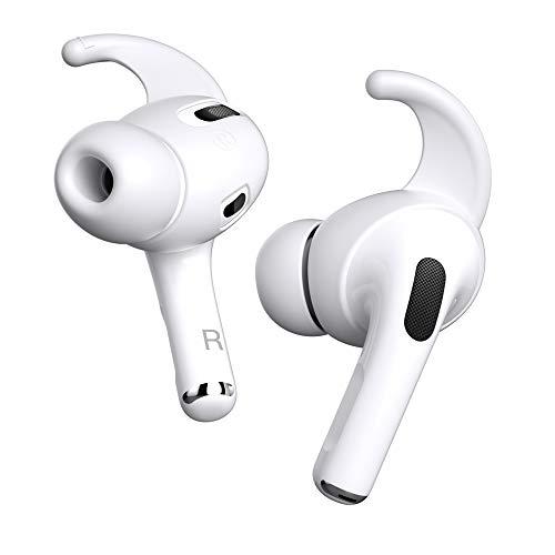 PZOZ Almohadillas para auriculares AirPods Pro, 2 pares de clips de silicona antideslizantes, compatibles con Air Pods Pro 2019