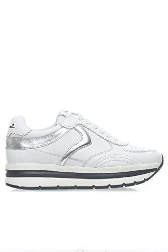 Voile Blanche sneakers hoog merk wit leer dames