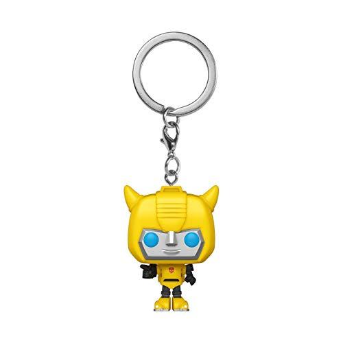 Funko- Pop Keychain: Transformers-Bumblebee Figura Coleccionable, Multicolor (52155)