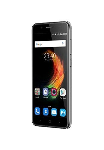 """ZTE Blade A610Plus,smartphone con schermo da 5.5"""", processore octa core da 1,5GHz, 4GB di RAM, sistema operativo Android 6.0, Argento"""