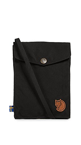 Fjällräven Minitasche Pocket Tasche, Black, 18 cm