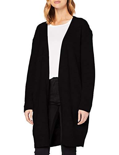 Superdry Womens Alpaca Blend Cardigan Sweater, Black, XL (Herstellergröße:16)