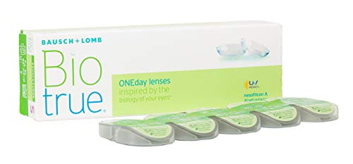 BAUSCH + LOMB - Biotrue® ONEday - Lentes de contacto de reemplazo diario 🔥