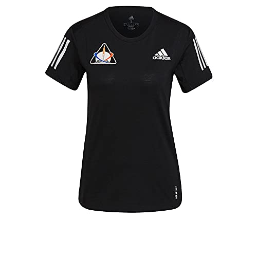 adidas GP5828 Space Tee W T-Shirt Donna Black L
