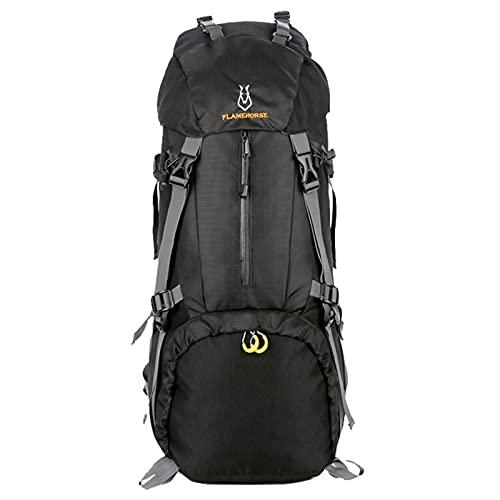 Lixada Zaino da Trekking Impermeabile con Porta di Ricarica USB per Campeggio all'aperto Alpinismo Trekking Viaggi, per Uomo Donna Ciclismo Arrampicata Viaggi 60L