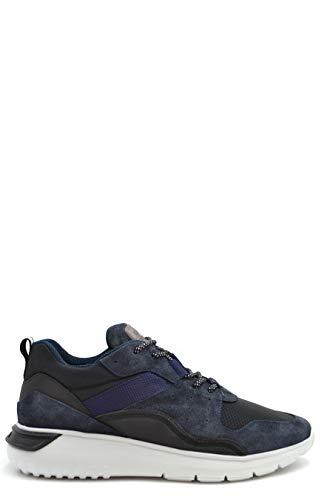 Hogan Luxury Fashion Herren PR021BLACK Schwarz Leder Sneakers | Jahreszeit Outlet