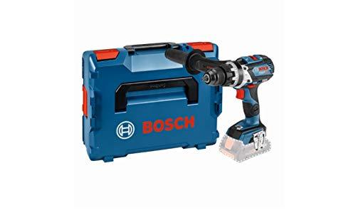 Bosch Professional 18 V akumulatorowa wiertarko-wkrętarka udarowa GSB 18 V-85 C (maks. moment obrotowy: 85 Nm, Connect Ready, bez akumulatorów i ładowarki, w L-BOXX 136)