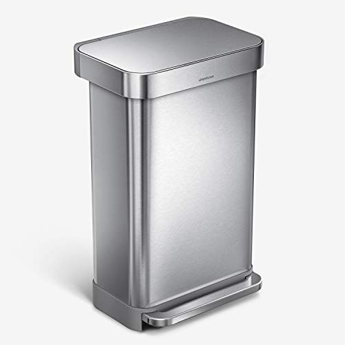 「simple human(シンプルヒューマン)」は、アメリカで絶大な支持を受けているハウスウェアブランド。何といっても、見ためのスタイリッシュさがかっこいいゴミ箱です。