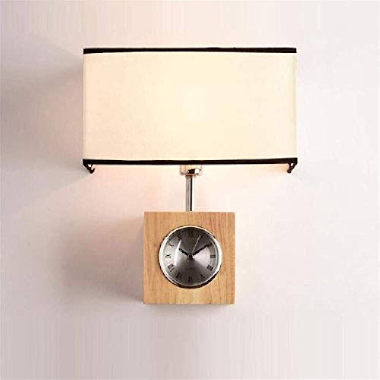 HBLJ Wand Lampbedroom Wohnzimmer Gang Massivholz Wandlampen Holz Beleuchtung Moderne japanische Nachttischlampen