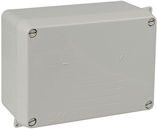 Caja de conexiones 150 x 200 x 100 mm Caja de ABS Cable de iluminaci/ón exterior Conexi/ón el/éctrica