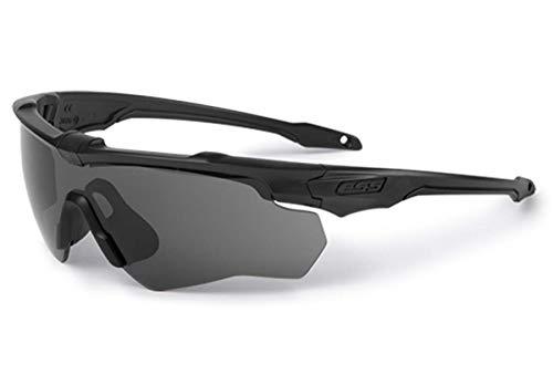 ESS Gafas de sol CrossBlade 2X Naro Kit Negro con Lente Transparente/Gris Humo