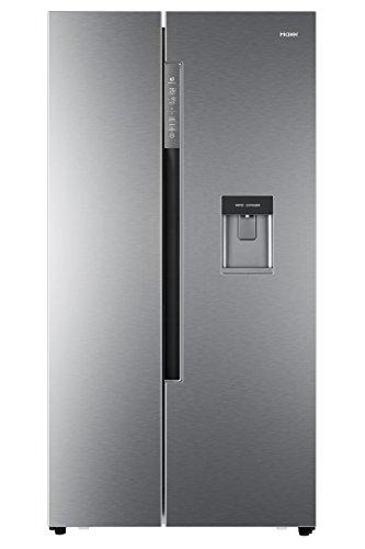 Haier HRF-522IG7 Side-by-Side/A++/179 cm Höhe/332 kWh/Jahr/331 L Kühlteil/169 L Gefrierteil/Wasser- und Eiswürfelspender/Festwasseranschluss