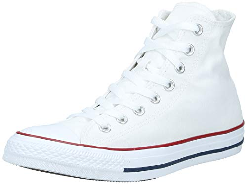 Converse All Star Hi, Sneaker Unisex Adulto, Optical White, 41 EU