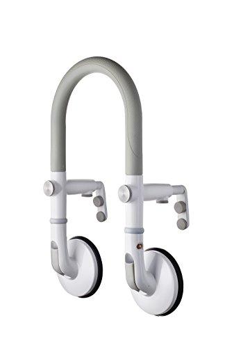 RIDDER Assistent A0260001 Badewannen-Einstiegshilfe mit Saugern Premium weiß