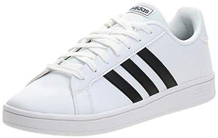 adidas Grand Court Base, Sneaker Hombre, Ftwbla Negbás Azuosc, 42 EU