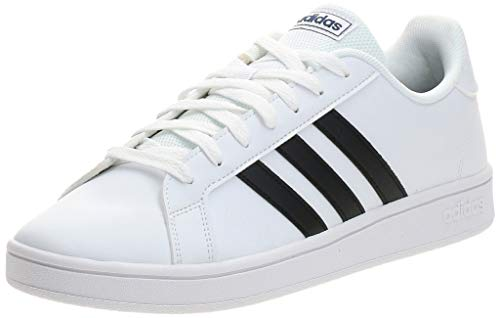 adidas Grand Court Base, Sneaker Hombre, Ftwbla Negbás Azuosc, 43 1/3 EU