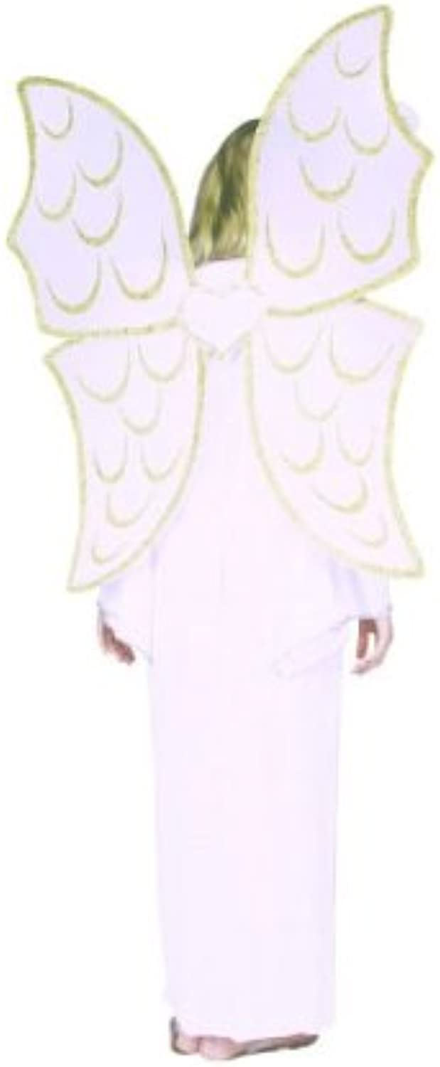 Rg Costumes White Angel Wings Accessory