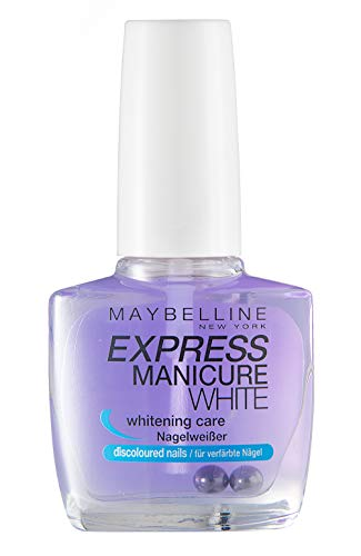 Maybelline New York Make-Up Nailpolish Express Manicure Nagellack Base Coat whitening Care /...