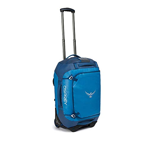 Osprey Rolling Transporter 40 Unisex Durable Wheeled Travel Pack - Kingfisher Blue (O/S)