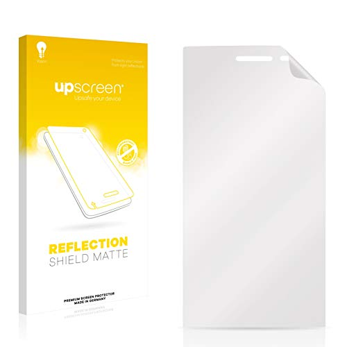 upscreen Protector Pantalla Mate Compatible con Mediacom PhonePad Duo X500 Película – Antireflejos, Anti-Huellas