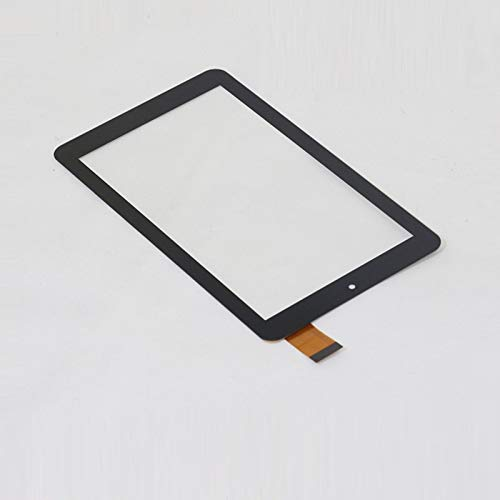 Display a Schermo Piatto 7 '' Pollice/Adatta per IRULU/Adatta per BabyPad Y3 Tablet Touch Screen Panel Digitizer Sostituzione del sensore di Vetro (Color : Black)