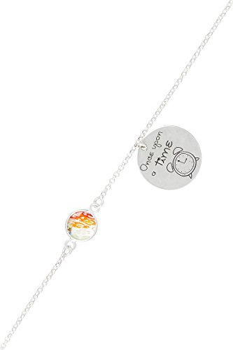 Córdoba Jewels | braccialetto in argento Sterling 925con motivo Once Upon a Time