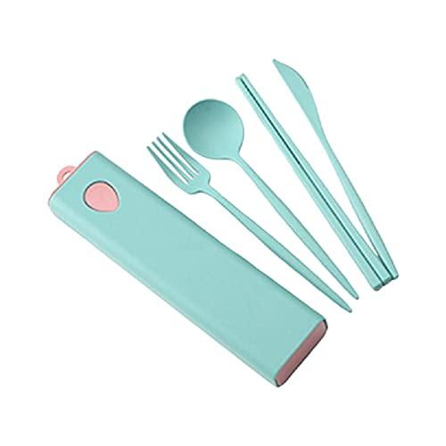 Juego de cucharas de tenedor de cocina con palillos con almacenamiento Snacks de café, frutas, postre de trigo, resina epoxi, molde de joyería para hacer joyas, moldes de regalo