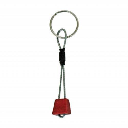 KONG - Porte-clés Mini Chock Couleur Rouge