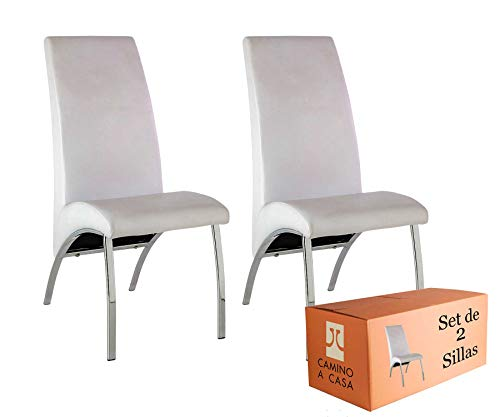 Camino a Casa® | Set x2 Sillas Comedor, sillas Cocina, Silla Arco...