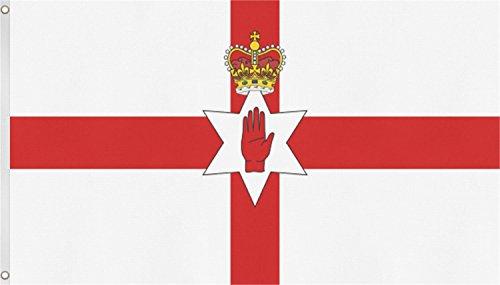 Fahne/Flagge Länderflagge Deutschland und andere Länder 90 x 150 Farbe Nordirland