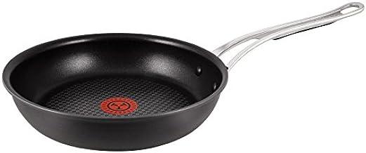 Tefal Jamie Oliver Hard Anodised Premium Series Frying Pan-26cm, 26cm, Black