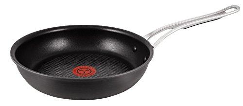 Tefal H9020544 Jamie Oliver Hard Anodised Induction Series Frying Pan, Black, 26 cm