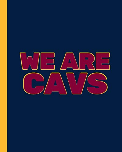 WE ARE CAVS: Basketball Game Stats Book, Large Size (8