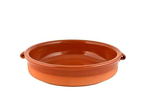Graupera - Tonschale Cazuela, Tappasschale, Flach, Keramik 20 cm Durchmesser