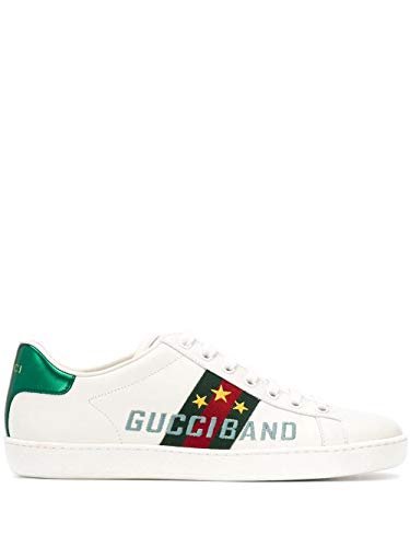 Luxury Fashion | Gucci Dames 6040160FI109069 Wit Leer Sneakers | Lente-zomer 20
