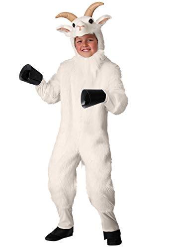 Kid's Mountain Goat Costume Small