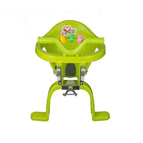 YYNHA Bebé Frente Bicicleta Seguridad Comfort Liceplipeat Plastic Sillón Bicicleta Asiento Colgante Sillas Bebés Asiento de Bicicleta hiohua