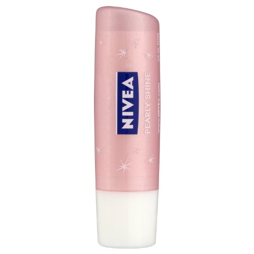 Nivea - Pearl and shine, bálsamo labial, pack de 6