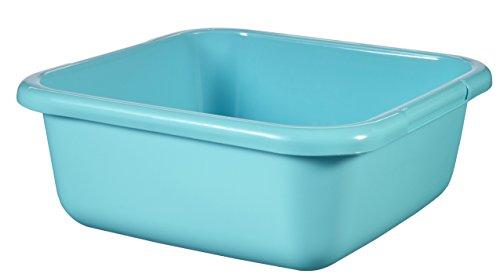 CURVER Viereckschüssel 15L in Molokai blau, Plastik, 40 x 40 x 15 cm