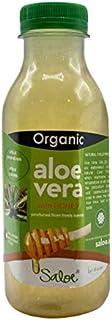 SALOE ORGANIC ALOE VERA JUICE WITH HONEY ECO FROM SPAIN 400ML - سالو 400 مل عصير الألوفيرا (الصبار) مع العسل - عضوي