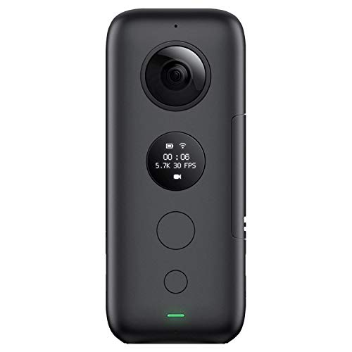 Insta360 ONE X Action Camera 360 Degree 5.7K 18MP Stabilization Real Time WiFi Transfer Sports Video Construction Documentation