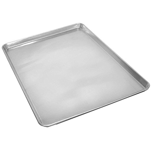 Palm Kloset Commercial Grade 18 x 13 Half Size Aluminum Sheet Pan Baking Perforated Bread Cookie Plate