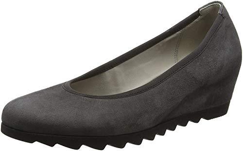 Gabor Shoes Damen Basic Pumps, Grau (19 Dark-Grey), 37.5 EU